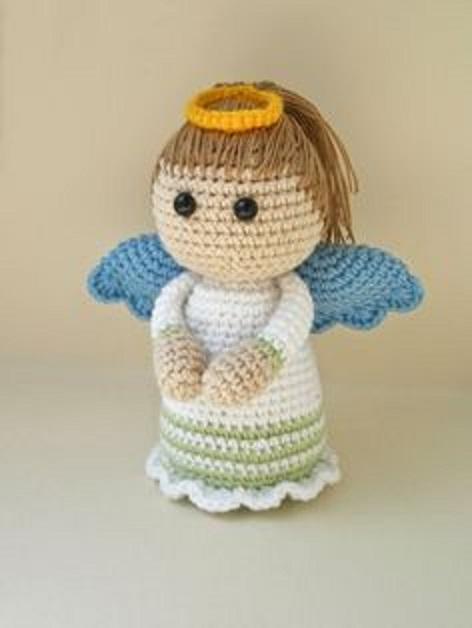ángel, patrón en ganchillo