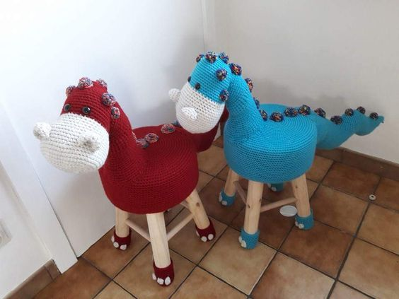 banqueta tuneada crochet