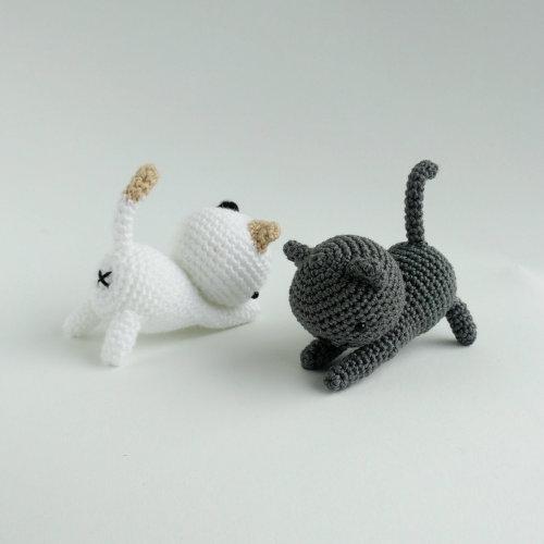 tutorial gatito crochet
