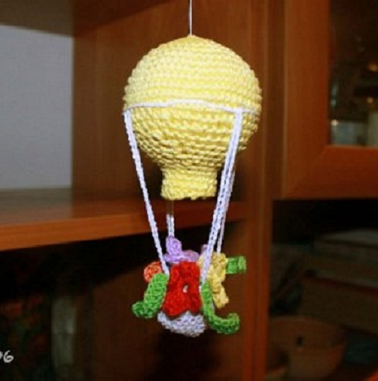 movil bebe crochet