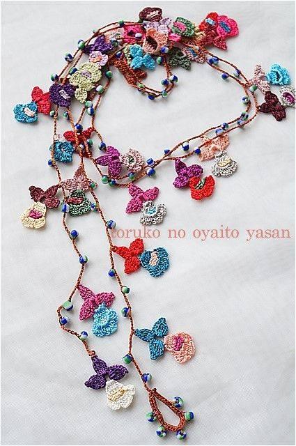 Collares crochet tendencia Primavera 2020
