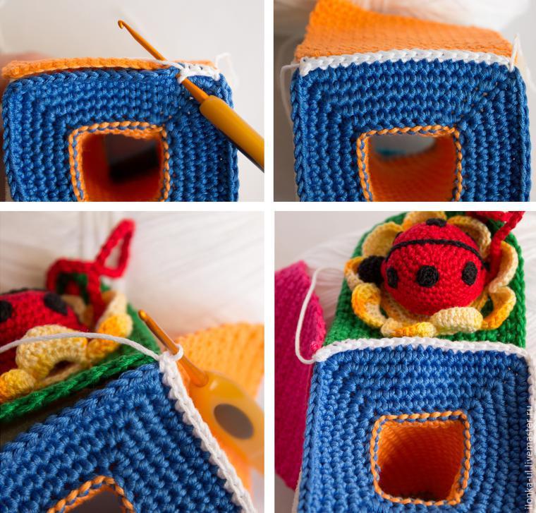 paso a paso juguete bebe crochet